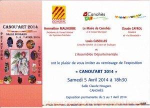 CANOU'ART 2014